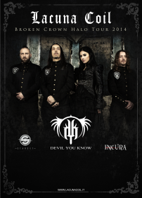 Lacuna Coil, Devil You Know, Startset, Incura