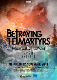 BETRAYING THE MARTYRS, REFLECTIONS, INVENT, ANIMATE